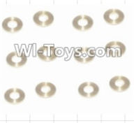 HBX 12885 Iron Hammer Parts-Copper Washers(16pcs)-2.5X5.5X0.5MM Parts-12029,HaiBoxing HBX 12885 Iron Hammer RC Car Spare Parts