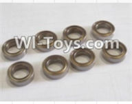 HBX 12885 Iron Hammer Parts-ball bearing(8pcs)-5x9x3mm Parts-59300,HaiBoxing HBX 12885 Iron Hammer RC Car Spare Parts