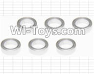 HBX 12885 Iron Hammer Parts-ball bearing(6pcs)-5x8x2.5mm Parts-H011,HaiBoxing HBX 12885 Iron Hammer RC Car Spare Parts