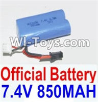 HBX 12885 Iron Hammer Parts-Battery 7.4V 850mah Battery(1pcs) Parts-12032N,HaiBoxing HBX 12885 Iron Hammer RC Car Spare Parts