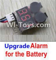 HBX 12885 Iron Hammer Parts-Upgrade Alarm for the Battery,Can test whether your battery has enouth power Parts-,HaiBoxing HBX 12885 Iron Hammer RC Car Spare Parts