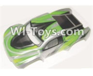 HBX 12885 Iron Hammer Parts-Car canopy,Shell cover-Green Parts-12091,HaiBoxing HBX 12885 Iron Hammer RC Car Spare Parts