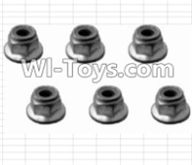 HBX 12885 Iron Hammer Parts-M3 Flange Lock Nut(6pcs) Parts-12043,HaiBoxing HBX 12885 Iron Hammer RC Car Spare Parts