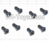 HBX 12885 Iron Hammer Parts-Steering Hub Step Screws(8pcs) Parts-16014,HaiBoxing HBX 12885 Iron Hammer RC Car Spare Parts