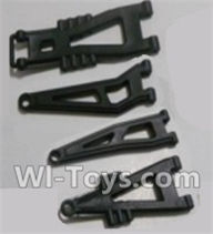 HBX 12891 Dune Thunder Parts-Front And Rear Suspension Arms,Front And Rear Swing Arm(Total 4PCS) Parts-12603,1/12 HaiBoXing HBX 12891 Dune ThunderRC Truck Parts