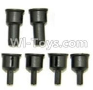 HBX 12891 Parts-Rear drive cup(2pcs) & Differential Cup(4pcs) Parts,1/12 HaiBoXing HBX 12891 Dune ThunderRC Truck Parts