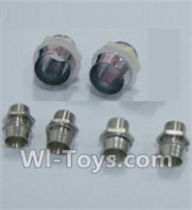 HBX 12891 Parts-LED Light Holders(Total 6 pcs) Parts-12663,1/12 HaiBoXing HBX 12891 Dune ThunderRC Truck Parts
