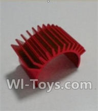 HBX 12891 Dune Thunder Parts-Motor Heatsink Parts-12616,1/12 HaiBoXing HBX 12891 Dune ThunderRC Truck Parts