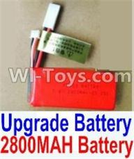 HBX 12891 Dune Thunder Parts-Upgrade 2800mah Battery(1pcs) Parts,1/12 HaiBoXing HBX 12891 Dune ThunderRC Truck Parts