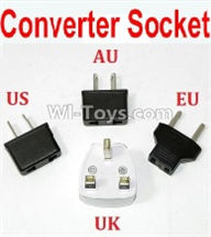 HBX 12891 Parts-Standard Adapter Universal Converter Socket(You can choose AU,US,EU,UK Version) Parts
