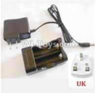 HBX 12891 Parts-Charge Box and Charger(United Kingdom Standard Socket) Parts-12644,1/12 HaiBoXing HBX 12891 Dune ThunderRC Truck Parts