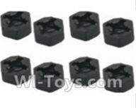 HBX 12891 Dune Thunder Parts-Hexagon Wheel Seat(4pcs) Parts-12010,1/12 HaiBoXing HBX 12891 Dune ThunderRC Truck Parts