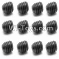 HBX 12891 Dune Thunder Parts-Set Screw-3X3mm(12PCS) Parts-S016,1/12 HaiBoXing HBX 12891 Dune ThunderRC Truck Parts