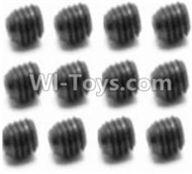 HBX 12891 Dune Thunder Parts-Set Screw-3X4mm(12PCS) Parts-S109,1/12 HaiBoXing HBX 12891 Dune ThunderRC Truck Parts