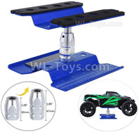 HBX 12895 Parts-RC model car repair platform maintenance platform, oil truck starting platform shunting platform, For 1/10 1/8 rc car.