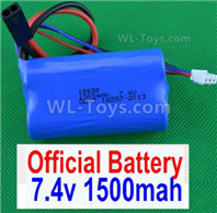 HBX 12895 Parts-Battery Pack,Official Lipo Battery, 2S 7.4V 1500mah Battery packs. Total 1pcs. 12225