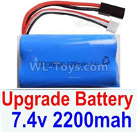 HBX 12895 Parts-Upgrade Battery Pack, Upgrade 7.4V 2200mah liPo Battery Pack-12225,Run more time.