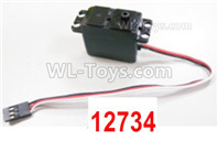 HBX 12895 Parts-Steering Servo. Servo for the Steering direction. The servo's Torque is 2.2KGS with 3-WIRE. 12734