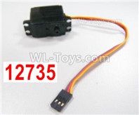 HBX 12895 Parts-Servo for the switching running speed. it includes the servo Arms. 12735