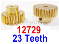 HBX 12895 Parts-Motor pinions with Set Screws. Motor gears. Total 2pcs. 12729