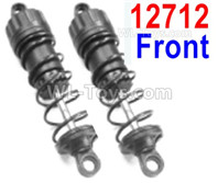 HBX 12895 Parts-Front Oil Filled Shock Absorbers. Total 2 set. 12712