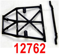 HBX 12895 Parts-Roll Cage, Hood Rail. 12762