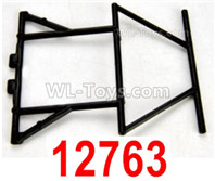 HBX 12895 Parts-Rear Roll Cage, Rear Rails. 12763