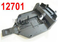 HBX 12895 Parts-Chassis, The bottom frame. 12701