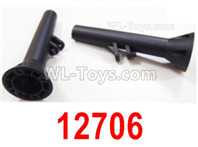 HBX 12895 Parts-Rear Axle. 12706