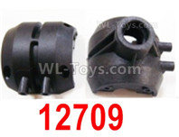 HBX 12895 Parts-Rear Gearbox Housing. 12709