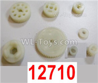 HBX 12895 Parts-Central Gears Assembly. 12710