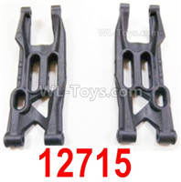 HBX 12895 Parts-Front Lower Suspension Arms, Front Lower Swing Arms. 12715