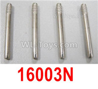 HBX 12895 Parts-Hub Carrier Pins for the Front or Rear, Ths size is φ2.5X23mm. Total 4pcs. 16003N
