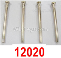 HBX 12895 Parts-Front Lower Suspension Hinge Pins. The size is 3.3x37mm. Total 4pcs. 12020