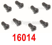 HBX 12895 Parts-Steering Hub Step Screws, Total 8pcs. 16014