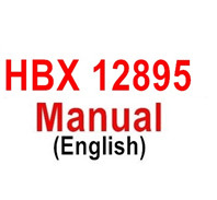 HBX 12895 Parts-Manual, instructions for the HBX 12895 RC Car.