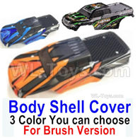 HBX 16889 Body Shell Cover-1pcs-3 Color you can choose(For Brush Version),HaiBoXing HBX 16889 Parts,HBX 1/16 Car Parts