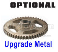 HBX 16889 RAVAGE Parts-Upgrade Metal Big Gear,Upgrade Machined Metal Spur Gear-M16102,HaiBoXing HBX 16889A Upgrade Parts