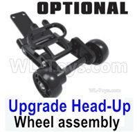 SG 1601 SG1601 Parts Upgrade Head-Up Wheel assembly, Wheelie Bar Assembly-M16108, SG 1/16 Car Parts