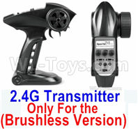 SG 1601 SG1601 Parts Transmitter, 2.4Ghz Radio (Only for Brushless Car)-12670-2.4G, SG 1/16 Car Parts