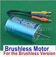 SG 1601 SG1601 Parts Brushless Motor-For the Brushless Version-M16111, SG 1/16 Car Parts