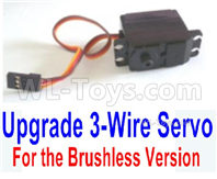 SG 1601 SG1601 Parts Servo (3-wire plug, for brushless Version)-M16109, SG 1/16 Car Parts