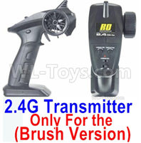 HBX 16889 RAVAGE Parts-Transmitter,2.4Ghz Radio (Only for Brushed Car),HaiBoXing 1/16 Car Parts