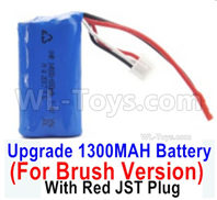 SG 1601 SG1601 Parts Upgrade 7.4V 1300MAH Battery-Only for the Brush Version-M16120, SG 1/16 Car Parts
