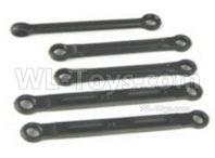 HBX 16889 RAVAGE Parts-Rear Upper Links+Steering Links + Servo Link-M16009,HaiBoXing 1/16 Car Parts
