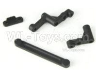 HBX 16889 RAVAGE Parts-Steering Bushes+Ackerman Plate-M16017,HaiBoXing 1/16 Car Parts