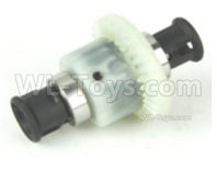 SG 1601 SG1601 Parts Diff. Complete, Differential Assembly(For Front or Rear)-M16018, SG 1/16 Car Parts
