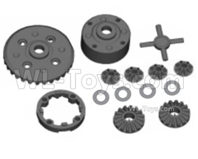SG 1601 SG1601 Parts Diff. Assembly, Differential Assembly-M16027, SG 1/16 Car Parts