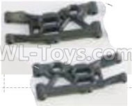 HBX Rampage Front Lower Supension Arms,Front lower Swing Arms(2pcs) Parts