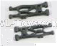 HBX Rampage 18859E 1 RearLower Supension Arms,Rear lower Swing Arms(2pcs) Parts